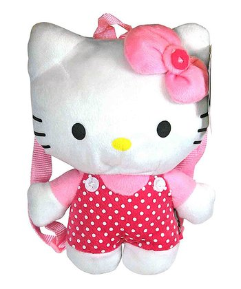 10'' Hello Kitty Plush Backpack