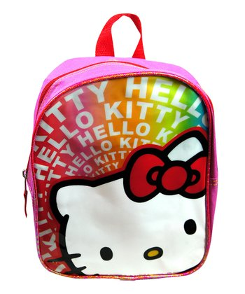 Rainbow Hello Kitty Mini Backpack