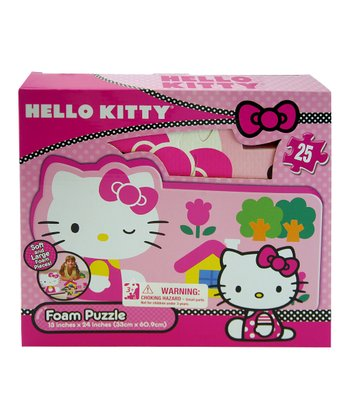 Hello Kitty Foam Puzzle