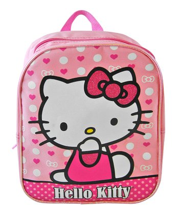 Pink Hello Kitty Polka Dot Mini Backpack