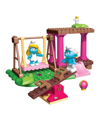 Smurf Playground Block Set