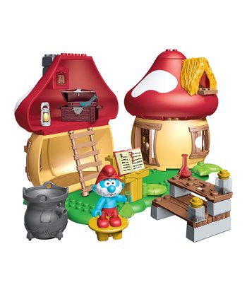 Papa Smurf's House Block Set