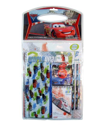 Cars School & Art Set