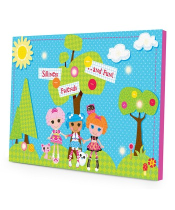 Lalaloopsy LED Canvas Wall Art