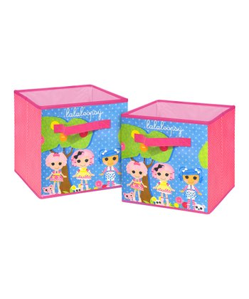 Lalaloopsy Storage Cube - Set of Two
