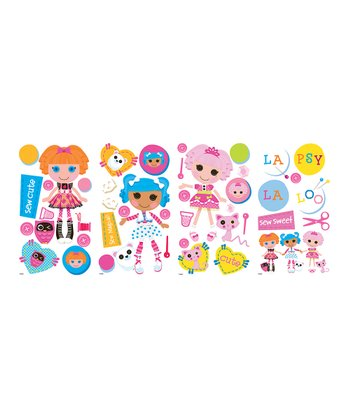 Lalaloopsy Peel & Stick Wall Decal Set