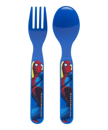 Spider-Man Flatware Set