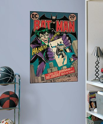 Batman #251 Peel & Stick Comic Cover Wall Decal