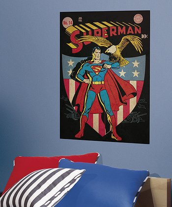 Superman #14 Peel & Stick Comic Cover Wall Decal