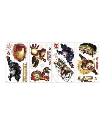 Iron Man Peel & Stick Wall Decals