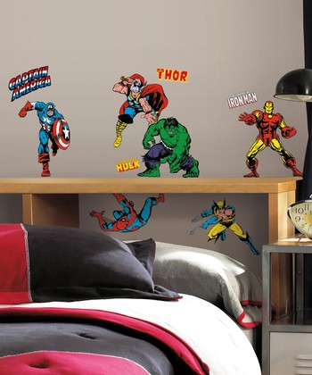 Marvel Classics Peel & Stick Wall Decal Set