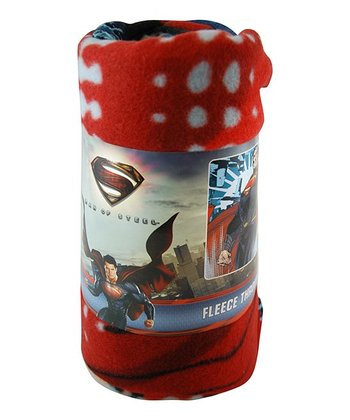Superman Fleece Throw