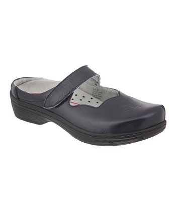 Navy Valley Clog