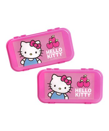 Hello Kitty Accessory Case - Set of Two