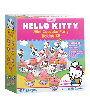 Hello Kitty Mini Cupcake Baking Set