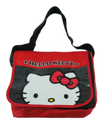 Red Hello Kitty Messenger Bag