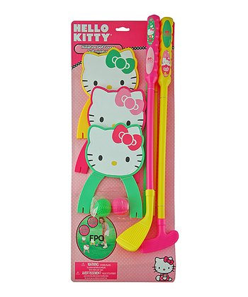 Hello Kitty Golf Set