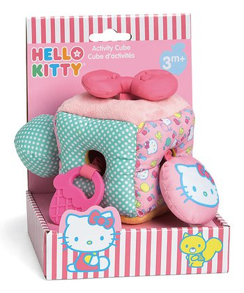 Hello Kitty Baby Activity Cube