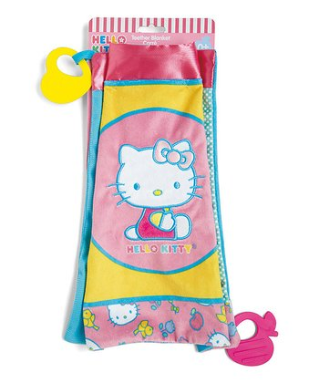 Hello Kitty Baby Teething Blanket