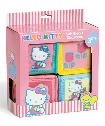 Hello Kitty Baby Soft Block Set