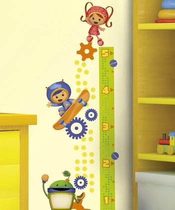 Team Umizoomi Peel & Stick Growth Chart Wall Decal