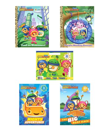 Team Umizoomi Activity Book Set