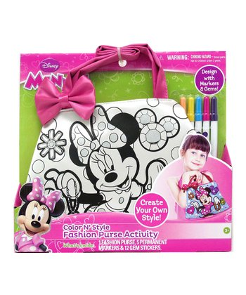 Minnie Mouse Color n' Style Purse