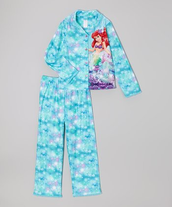 Aqua Underwater Ariel Pajama Set - Girls