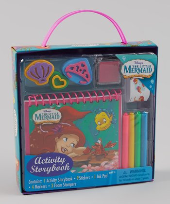 The Little Mermaid Stamp & Sticker Activity Box