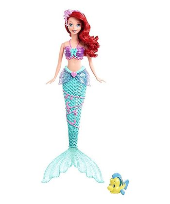 Color Changing Ariel Doll