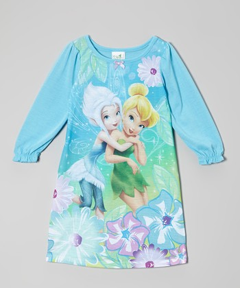 Aqua Tink & Periwinkle Nightgown - Toddler