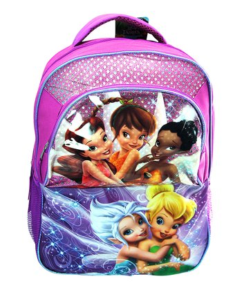 Purple Tinker Bell Fairy Friends Backpack