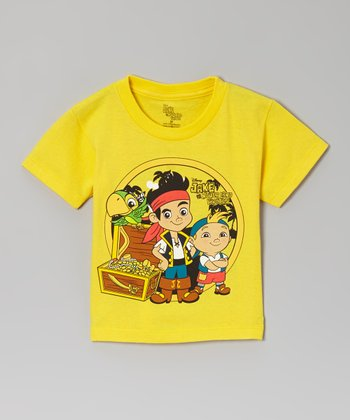 Yellow Jake & Treasure Chest Tee - Toddler
