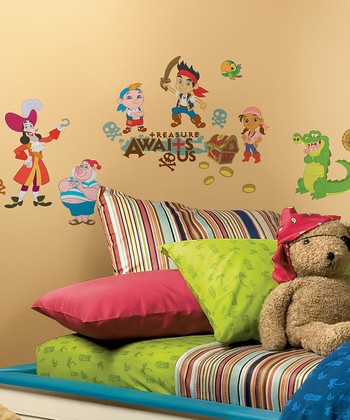 'Treasure Awaits Us' Wall Decal Set