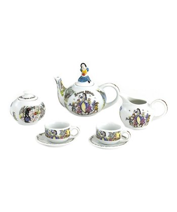 Snow White Miniature Collector Tea Set