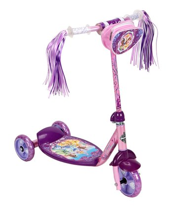 Pink & Purple Disney Princess Scooter