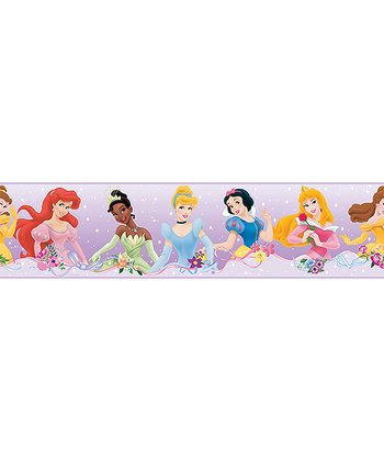 Lavender Disney Princess Wall Border Decal
