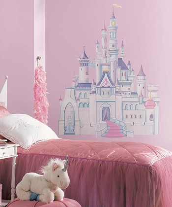 Princess Castle Giant Wall Decal Set