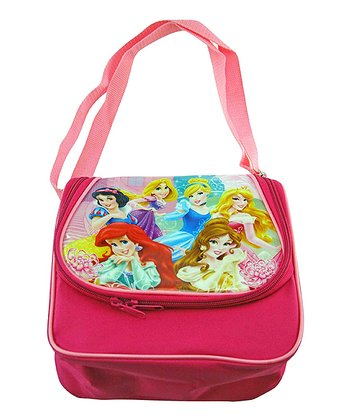 Hot Pink Disney Princess Lunch Bag