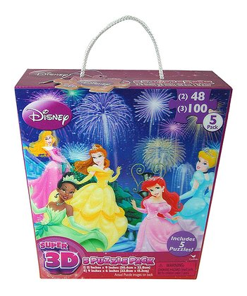 Disney Princess 3-D Puzzle Set