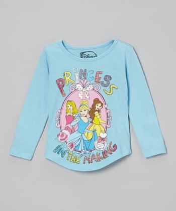 Blue 'Princess In The Making' Tee - Toddler