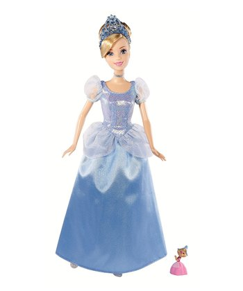 Cinderella Doll & Suzy Mouse Set
