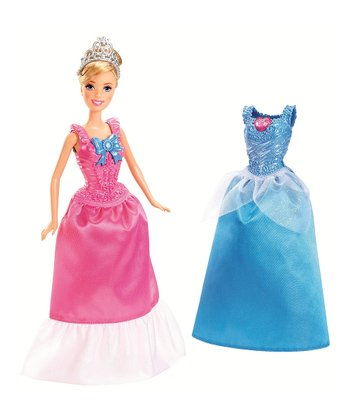Cinderella Clip-on Dress Set