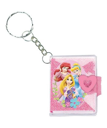 Princess Notebook Keychain - Set of 12
