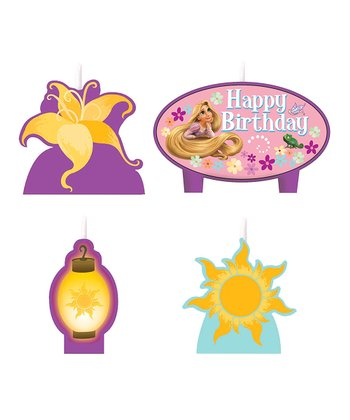 Rapunzel Mini Candle Set