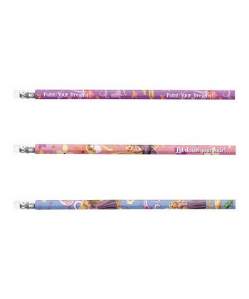 Rapunzel Pencil Set