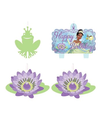 Princess Tiana Mini Candle Set
