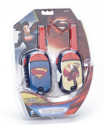 Superman Walkie Talkie
