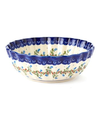 Bluebell Wreath Shell Bowl