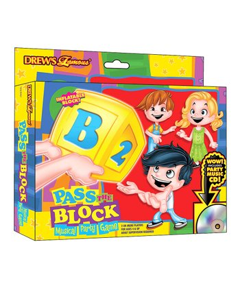 Pass the Block Musical Party Game